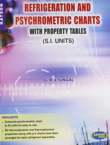 Refrigeration and Psychrometric Charts with Property Tables: Dr. R.K. Singal