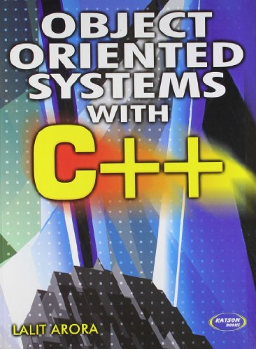 Object Oriented System With C++: Lalit Arora