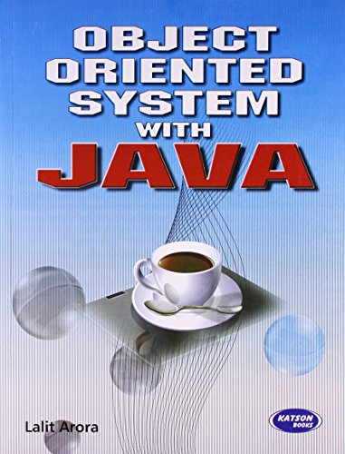 Object Oriented System with Java: Lalit Arora