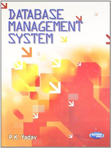 Database Management System: P.K. Yadav