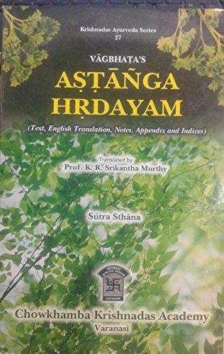 Astanga Hrdayam of Vagbhata: Kanjiv Lochan