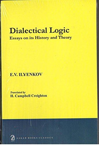9788189833398: Dialectic Logic: Essays on Its History and Theory