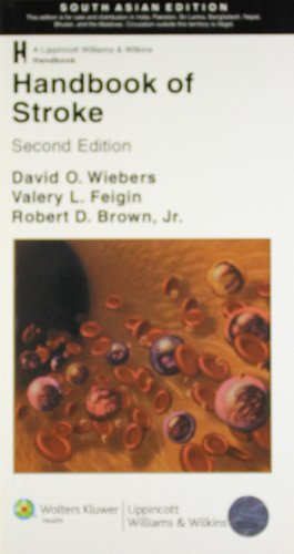 Handbook of Stroke (Second Edition): David O. Wiebers, Valery L. Feigin & Robert D. Brown (Eds)