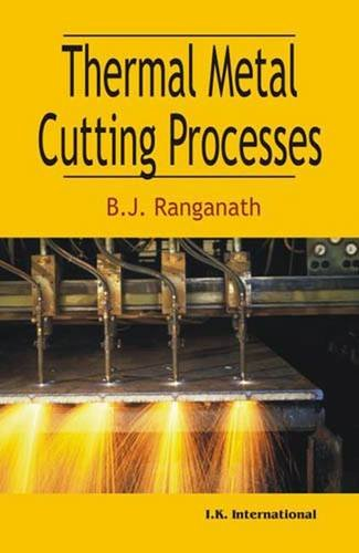 9788189866907: Thermal Metal Cutting Processes