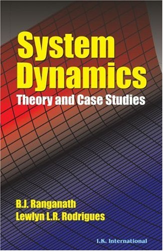 9788189866921: System Dynamics: Theory and Case Studies