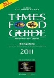 9788189906610: Times Food Guide Bangalore 2011