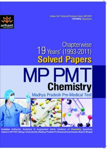 MP PMT Chemistry Chapterwise Solved Papers & Mock: Expert Compilations