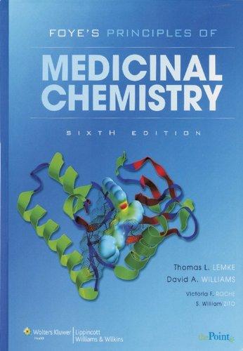Foye'S Medicinal Chemistry Sixth Edition: Lemke