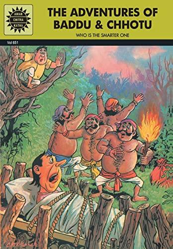 The Adventures of Baddu and Chhotu (Vol. 651): Amar Chitra Katha