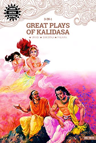 9788189999209: Great Plays of Kalidasa (Amar Chitra Katha 3 in 1 Series)