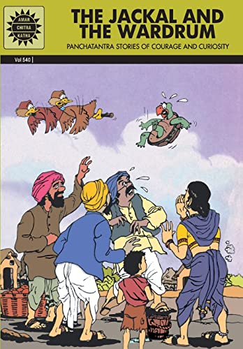 Panchatantra: The Jackal and the Wardrum and other Stories (Vol. 540): Amar Chitra Katha