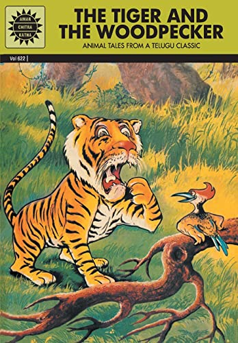 Tiger And The Woodpecker (622): Pvt, Amar Chitra