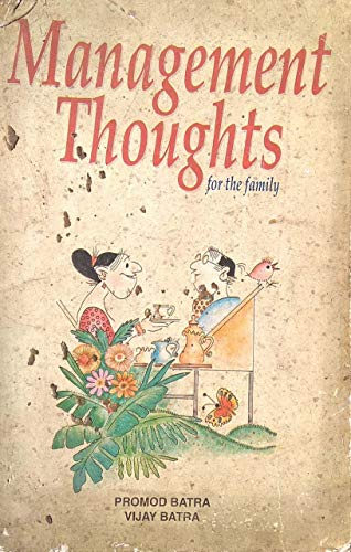 9788190001953: Management Thoughts for the Family in Business