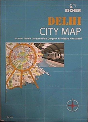 9788190060172: Delhi City Map