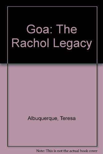 9788190073004: Goa: The Rachol Legacy