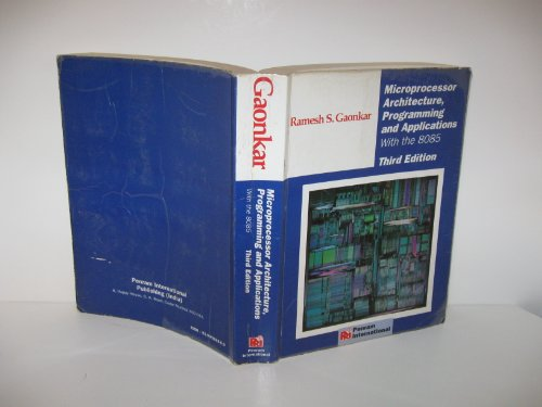 9788190082808: Microprocessor Architecture, Programming and Applications With the 8085