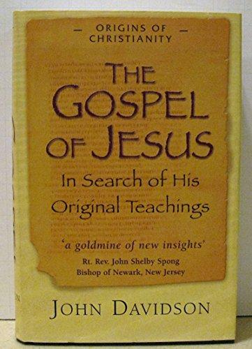 9788190173117: The Gospel of Jesus: In Search of His Original Teachings
