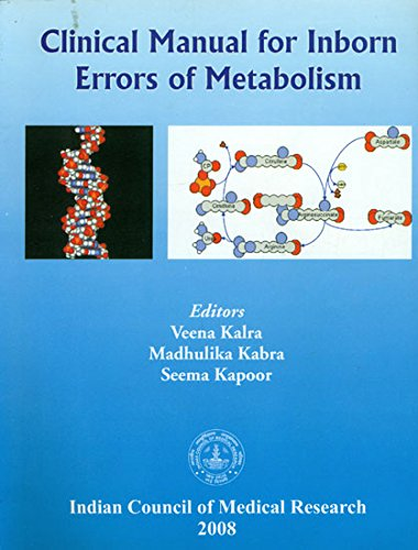 9788190185356: Clinical Manual for Inborn Errors of Metabolism
