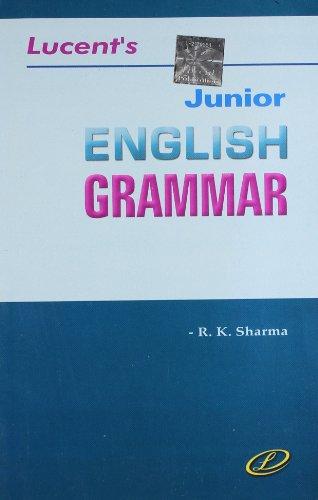 9788190193122: Junior English Grammar