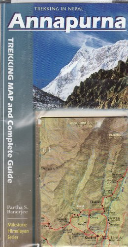 9788190327015: Annapurna: Trekking Map & Complete Guide 2012 [Idioma Inglés]