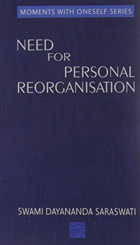 9788190420327: The Need for Personal Reorganisation