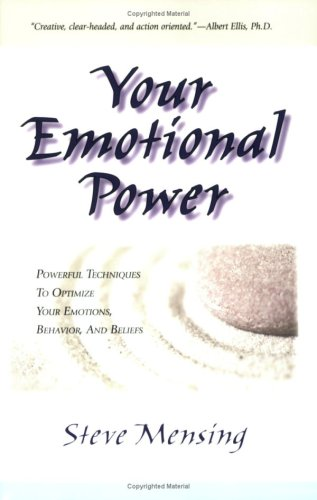 9788190457200: Your Emotional Power:Powerful Techniques to Optimize Your Emotions, Behavior, and Beliefs