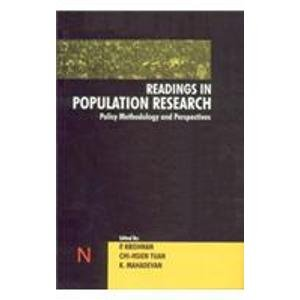 Readings in Population Research: Policy, Methodology and Perspectives: Chihsien Tuan,K. Mahadevan,P...