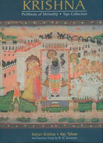 9788190593502: In Adoration of Krishna: Pichhwais of Shrinathji - Tapi Collection
