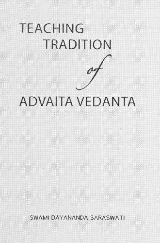 9788190605946: Teaching Tradition of Advaita Vedanta