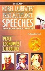 Nobel Laureates? Prize Accepance Speeches: Gagan Jain
