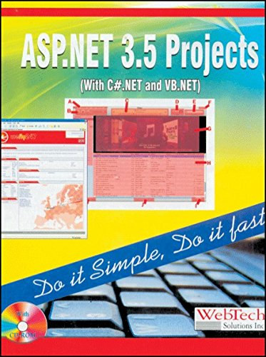 ASP.Net 3.5 Projects (with C# .NET and VB. NET): Web Tech Solutions Inc.