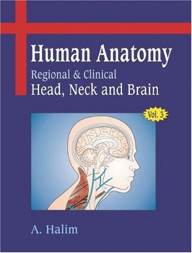 9788190656641: Human Anatomy : Volume III Head, Neck and Brain