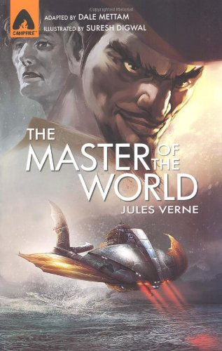 MASTER OF THE WORLD: Verne, Jules. (Mettam,