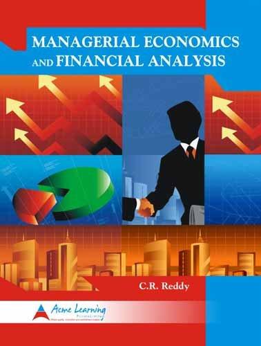 Managerial Economics & Financial Analysis: C.R. Reddy
