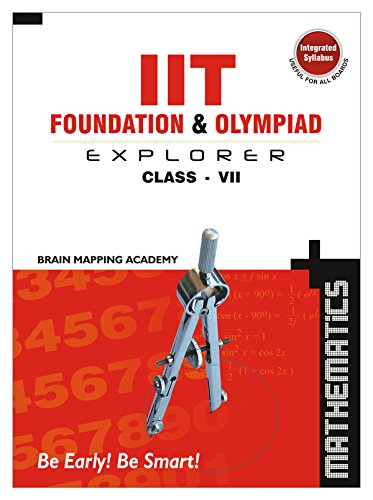 9788190728522: IIT Foundation & Olympiad Explorer - Class 7 (Maths)