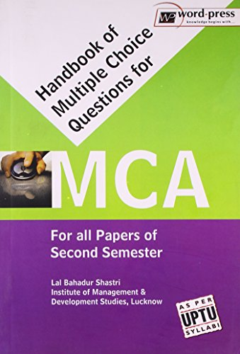Handbook Of Multiple Choice Questions For Mca: Lal Bahadur Shastri
