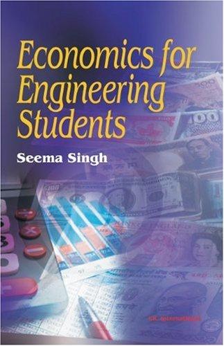 Economics for Engineering Students: Seema Singh