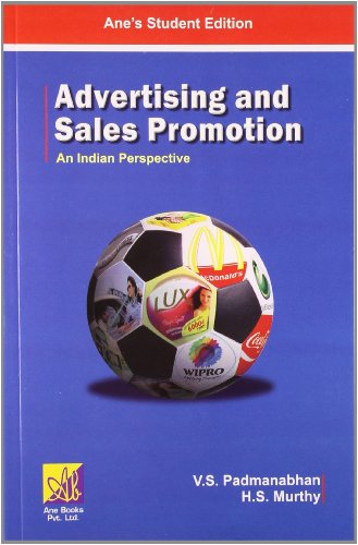 Advertising and Sales Promotion: An Indian Perspective: H.S. Murthy,V.S. Padmanabhan