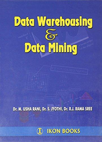 Data Warehousing & Data Mining (Pb): Rani M.U.