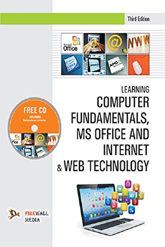 9788190855938: Learning Computer Fundamentals, Ms Office And Internet & Web Technology