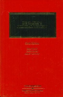 9788190865043: DE Smith's Judicial Review