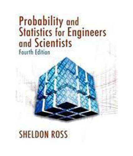 Introduction to Probability and Statistics for Engineers: Sheldon Ross