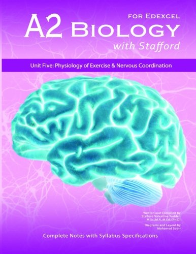 9788191070545: A2 Biology With Stafford: Unit 5: Physiology of Exercise & Nervous Coordination