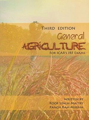 9788192009018: General Agriculture for ICAR S JRF EXAM 4th ed (PB)