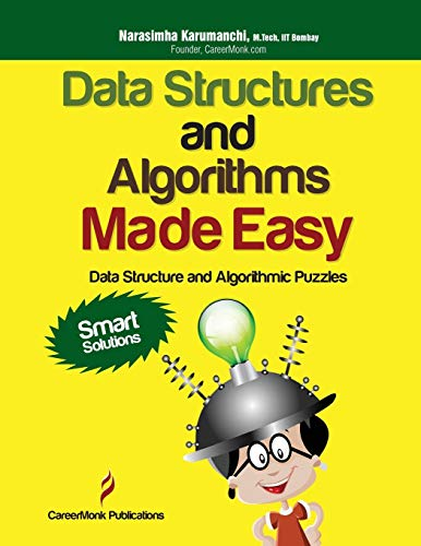 9788192107547: Data Structures and Algorithms Made Easy: Data Structure and Algorithmic Puzzles, Second Edition