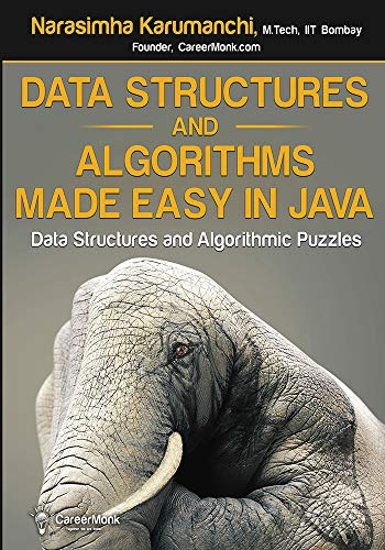 9788192107554: Data Structures and Algorithms Made Easy in Java: Data Structure and Algorithmic Puzzles, Second Edition