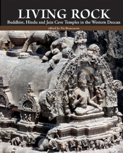 9788192110677: Living Rock: Buddhist, Hindu and Jain Cave Temples in the Western Deccan
