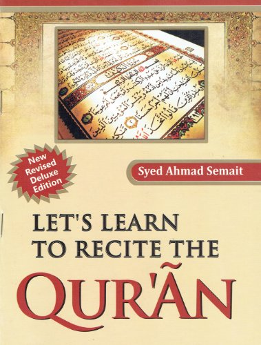 9788192436791: Lets Learn to Recite the Holy Quran
