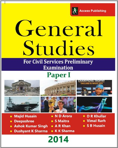 9788192679600: General Studies: For Civil Services Preliminary Examination Paper - I