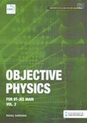 9788193167519: Objective Physics For Iit-Jee Main Vol. 2